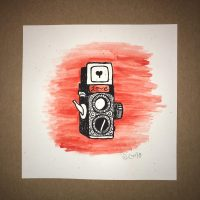 Mini Camera print HC